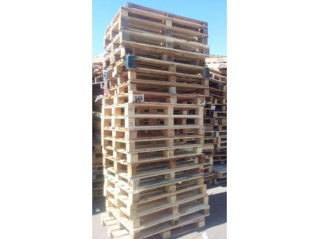 Wooden pallets for logistics,  warehouse and storage for sale - 1/2
