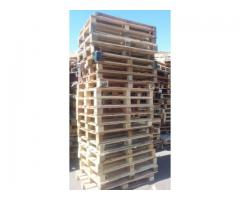 Wooden pallets for logistics,  warehouse and storage for sale