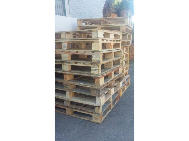 Wooden pallets for logistics,  warehouse and storage for sale - 2/2