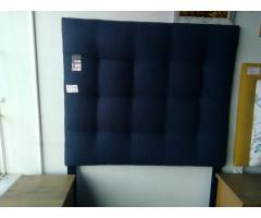 Double bed size headboard
