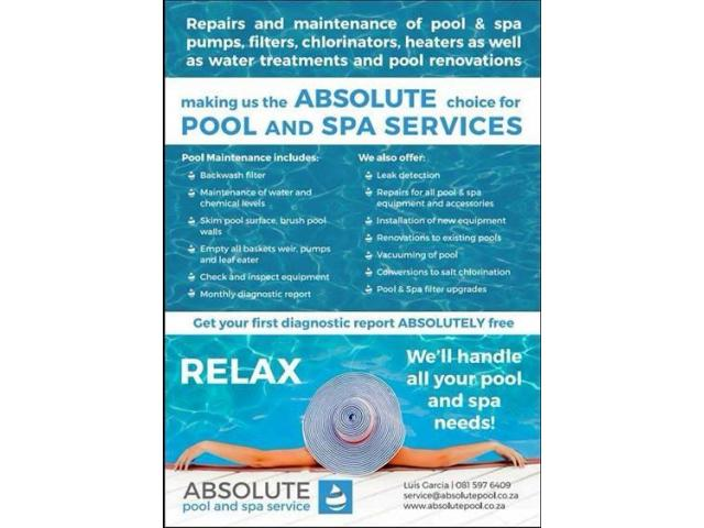 Swimming pool maintenance and repairs - 1/4