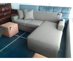 Amazing quality L-shaped couches