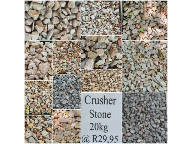 Crusher stone - 1/4