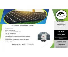 Commercial Solar Packages