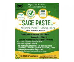 Sage Pastel Accounting / Payroll hr Training and Support offered