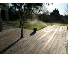 IRRIGATION / GARDEN WATERING SYSTEMS / TANK INSTALLATION