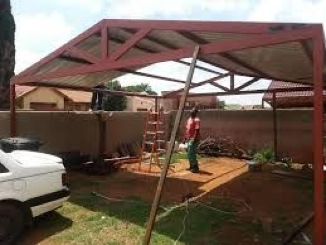 CARPORTS AND STEEL STRUCTURES - 3/4