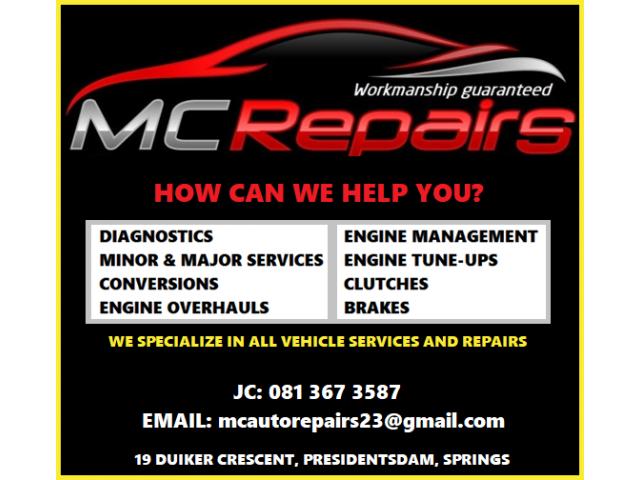 MC AUTO REPAIRS - 1/2