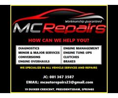 MC AUTO REPAIRS