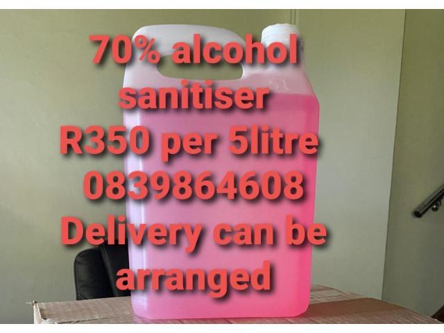 70% alcohol hand sanitizer - 1/1