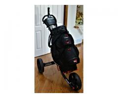 ClicGear golf cart and bag