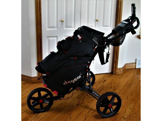 ClicGear golf cart and bag - 4/4
