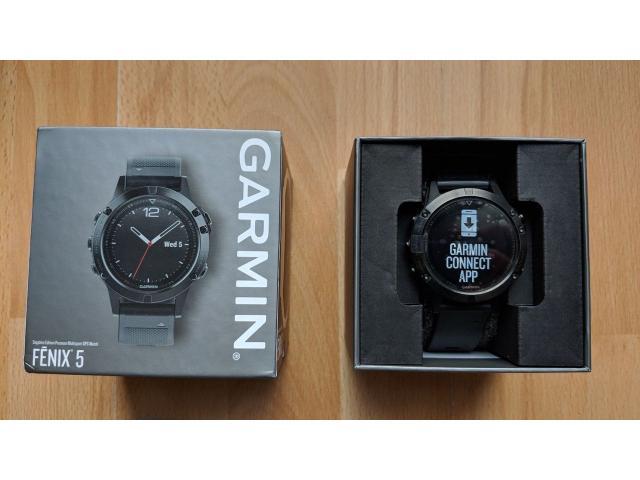 Garmin Fenix 5 Sapphire edition - 1/2