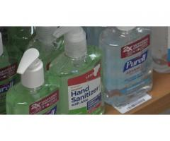 Hand Sanitizer, Disposable N95, 2,3 ply surgical face mask for sale