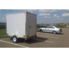 2 in 1 Mobile Chillers/Freezers // Refrigerated Trailers // Mobile Cold Rooms - For Hire-Rental.