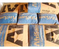 Afrisam all purpose cement 42.5N Bags of Cement on Sale