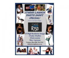 Studio Photo Shoot Special, R750 (Randburg)