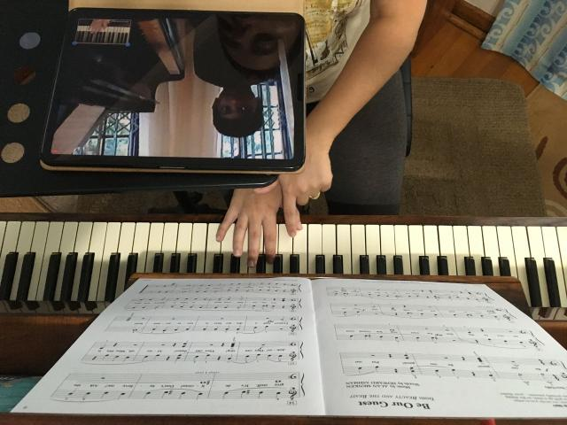ONLINE Piano Lessons - MG MUSIC SCHOOL - 3/4