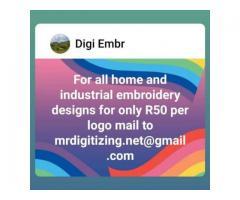 EMBROIDERY DESIGN DIGITIZING SERVICE