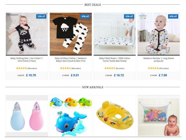 Baby Dropshipping Store - 2/3