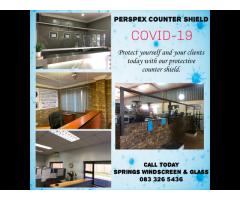 Perspex Counter Shield