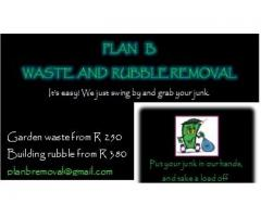 GARDEN WASTE AND BUILDING RUBBLE REMOVAL