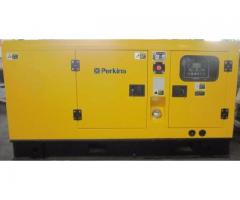 PERKINS 50-KVA SILENT 3-PHASE AUTO START DIESEL GENERATOR