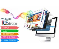 Website Re-Design From R1500