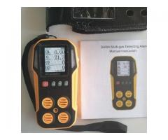 Confined spaces digital MULTI gas testing equipment 4 gases