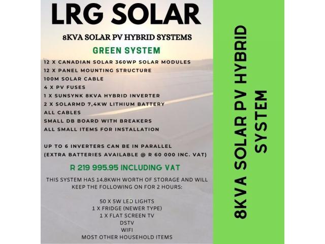 Solar PV and Backup Power Sytems @ LRG Solar - 1/4