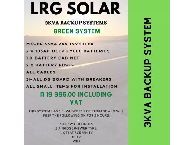Solar PV and Backup Power Sytems @ LRG Solar - 2/4