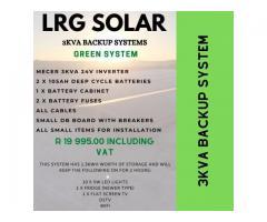 Solar PV and Backup Power Sytems @ LRG Solar