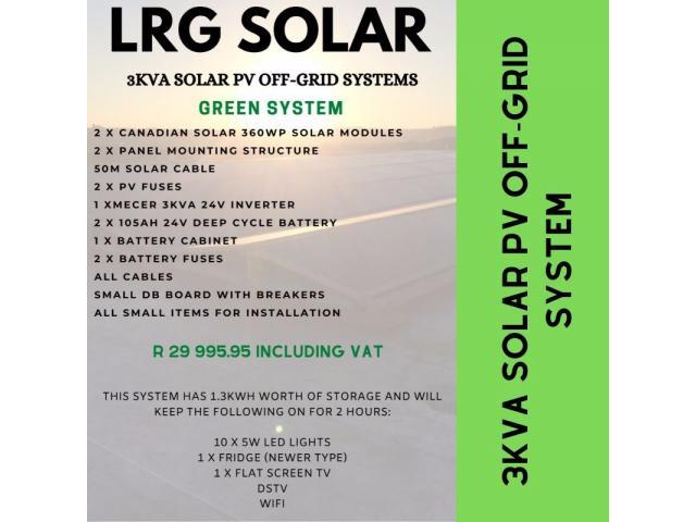 Solar PV and Backup Power Sytems @ LRG Solar - 3/4