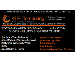 Computer Repairs , Sales & Support