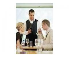 Waiters to work in hotels, restaurants & lodges urgently needed now