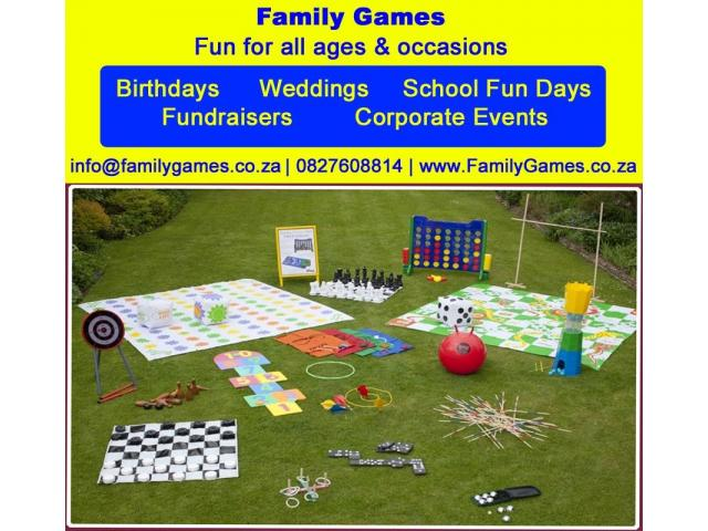 Party Games for Hire - 1/4