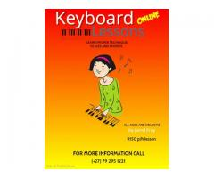 Online Piano/Keyboard Lessons