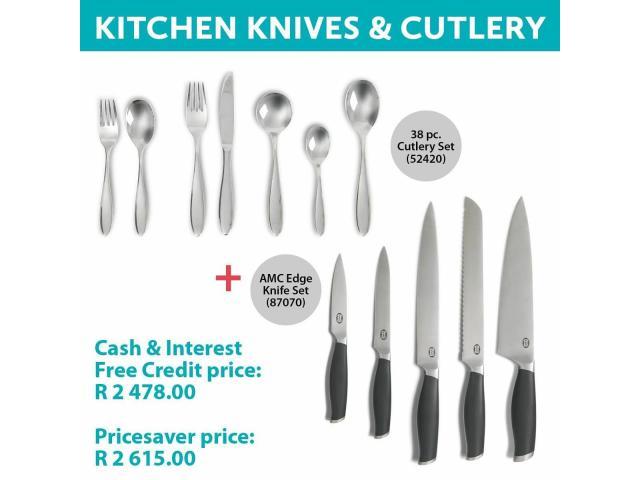 Kitchen Knives & Cutlery - 1/1