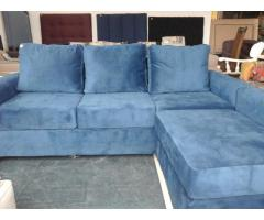 Blue interchangeable couch
