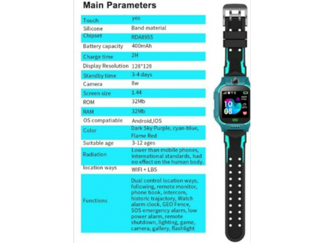 smart watch for kids gps tracking - 1/1