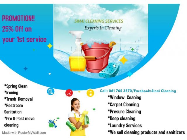 Affordable Cleaning Service and products - 1/1