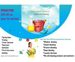 Affordable Cleaning Service and products