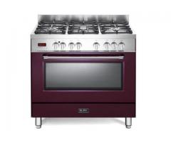 Elba 900mm Freestanding Gas/Electrical Oven - 01/9S4EX937NR