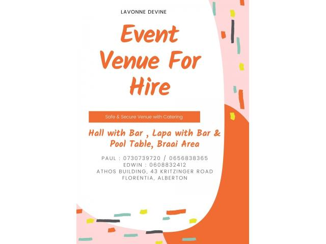 Hall for Hire - 4/4