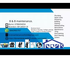 B and B maintenance