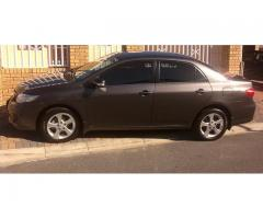 Car Hire/Rental - 2013 Toyota Corolla 1.6 Advanced