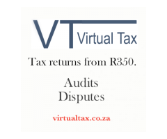 Tax returns at only R350 each