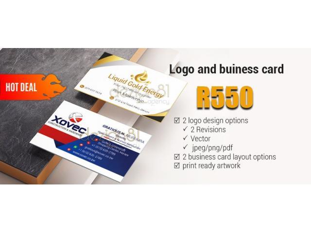 Logo Design + Free business card artwork - 1/2