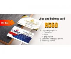 Logo Design + Free business card artwork
