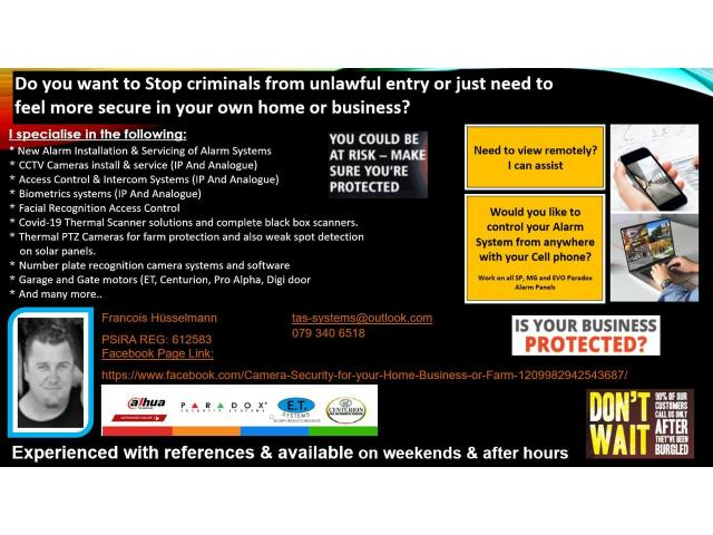 Camera Security for your Home, Business or Farm - 1/1